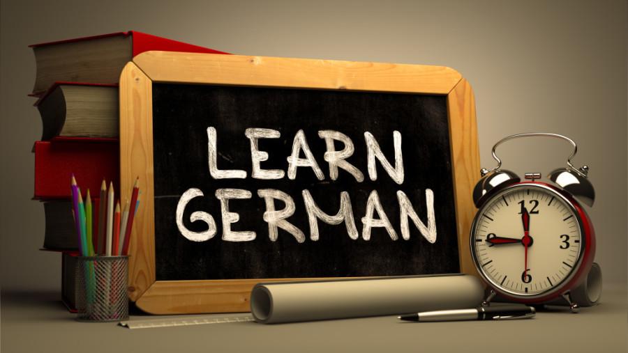 mesimi i gjuhes gjermane